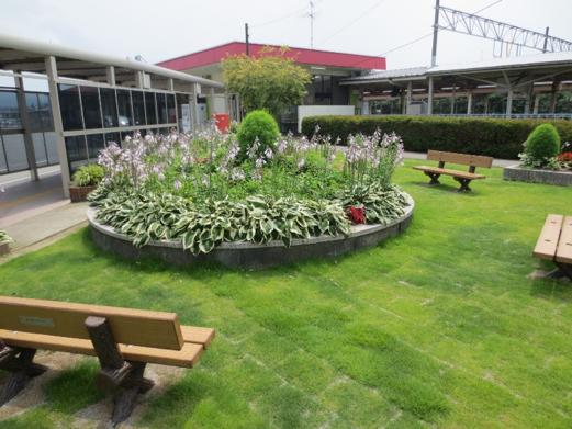 くろべ駅前花壇