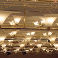 大宴会場の照明
