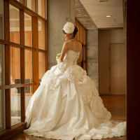 純白のドレス 前沢ガーデンハウス